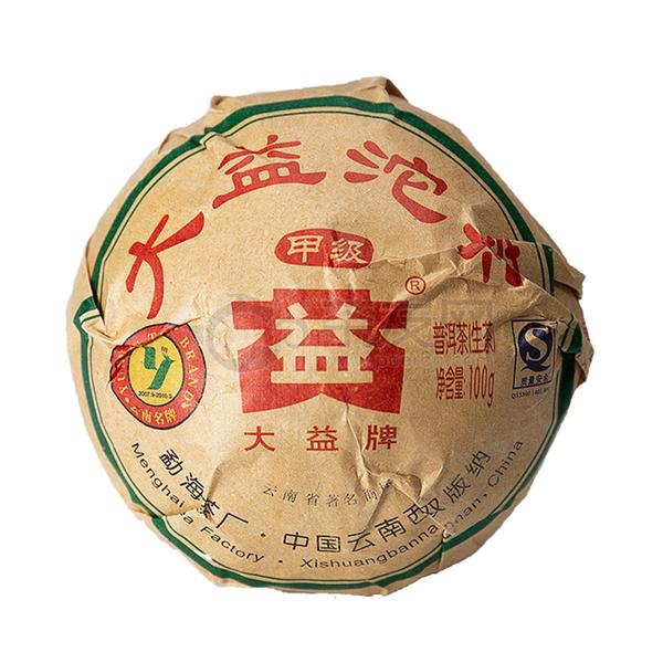 2009年大益 甲级沱茶 902批 生茶 100克