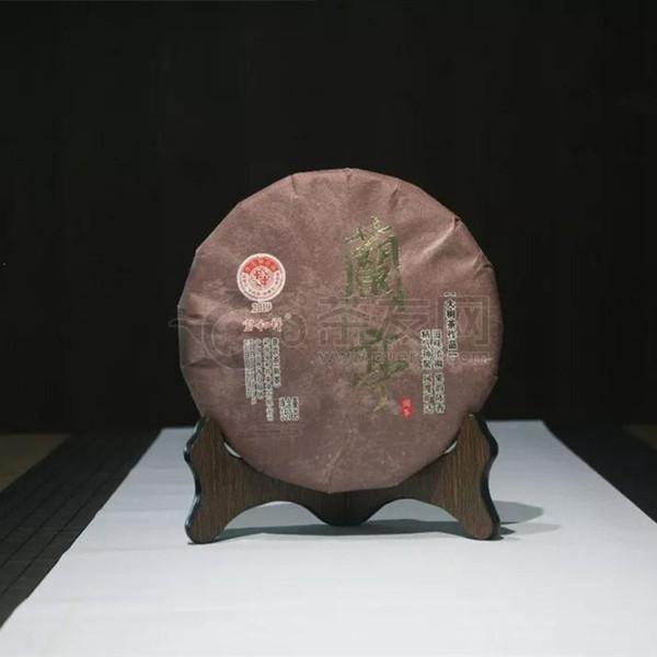 2019年宝和祥 兰亭 熟茶 357克