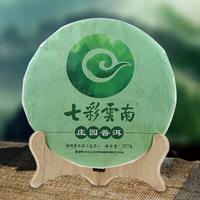 2018年七彩云南 庄园普洱 生茶 357克