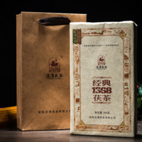 2020年泾渭茯茶 经典1368 黑茶 900克