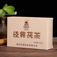 2015年泾渭茯茶 经典茯茶 黑茶 400克