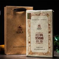 2014年泾渭茯茶 经典1368 黑茶 900克