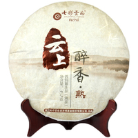2020年七彩云南 云上醉香 熟茶 357克