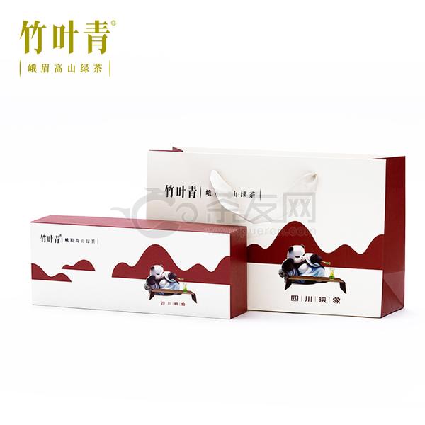 2021年竹叶青 熊猫小竹子特级(品味) 绿茶 40克