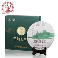 2019年三鹤 高山大树饼六堡茶 黑茶 500克